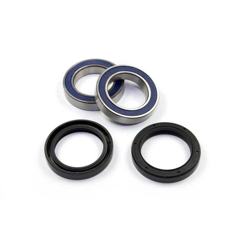 For KTM Enduro 690 2010 All Balls Racing Rear Wheel Bearings /& Seals