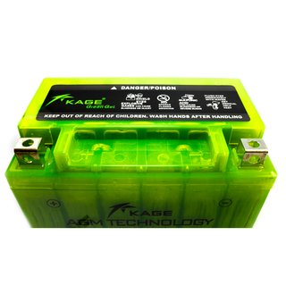 Battery Green GEL KAGE YTX9-BS