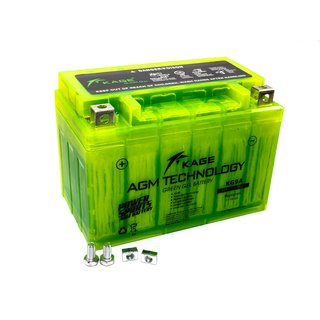 Batterie Green GEL KAGE YTX9-BS