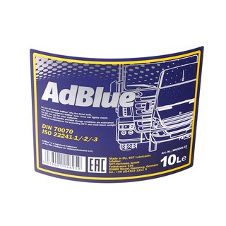 MANNOL AdBlue urea solution exhaust gas cleaning Diesel TDI CDI HDI 10 liter