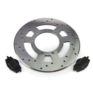 Brake disc brake pads set front