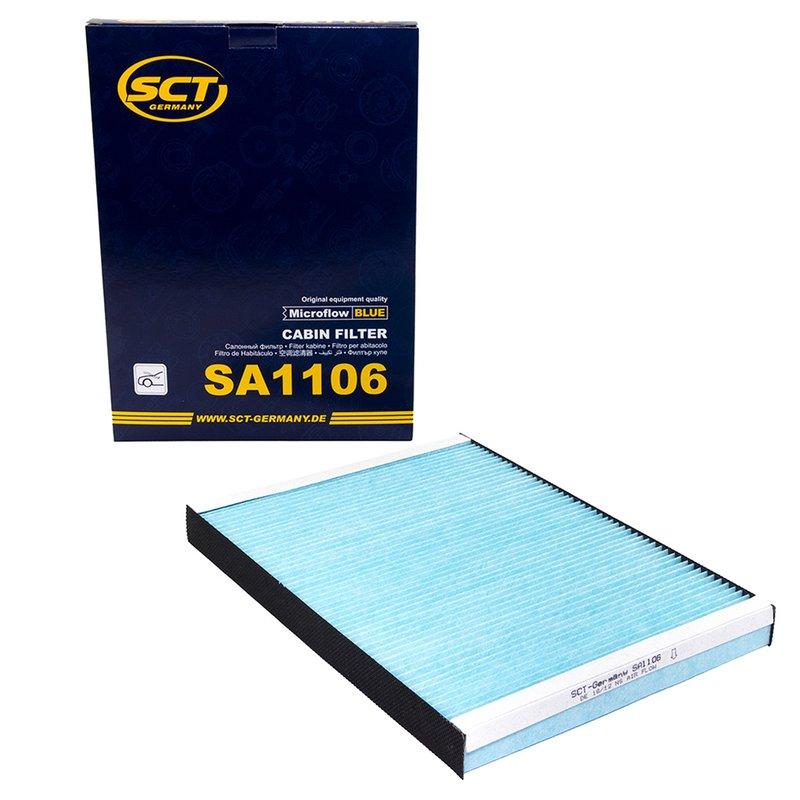 Sct Intérieur Filtre Filtre à air sa 1106 pollen filtre air Filtre